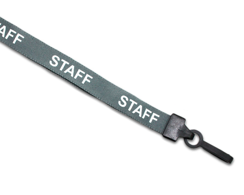 preprinted lanyards - id accessories