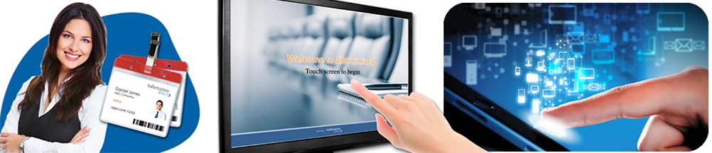 touchscreen visitor management