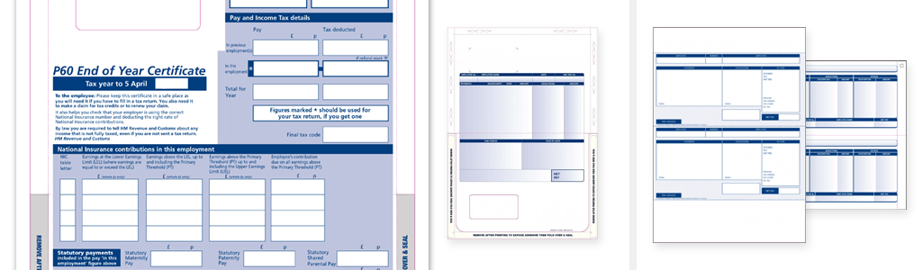 account forms